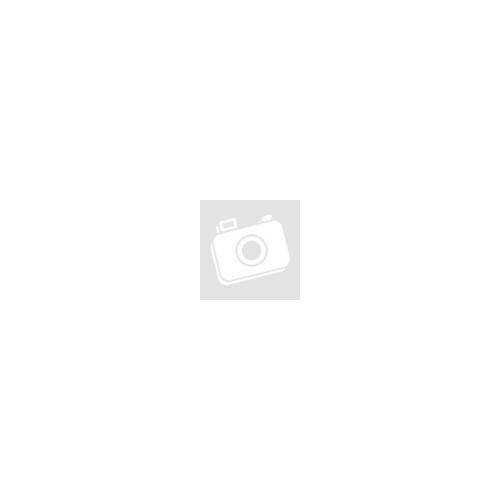 LED-es szolár fali lámpa - lángeffekttel - fekete, rácsos - 18 x 10 cm